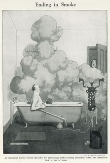 Ending in Smoke by Heath Robinson
