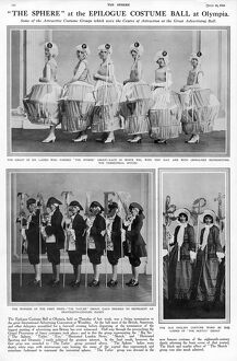 The Epilogue Ball - costumes of famous magazines