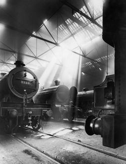 EUSTON LOCOMOTIVE SHEDS