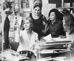 Eva Marie Saint visits the London Life office