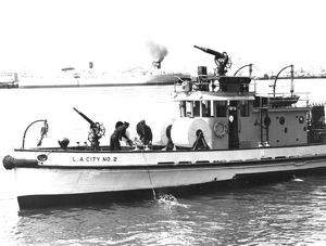Example of an United States (USA) fireboat