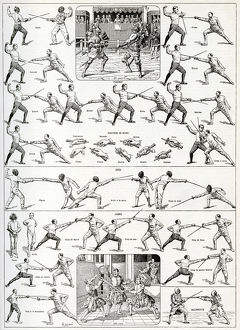 Fencing positions