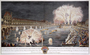 Fireworks on the River Seine, Paris