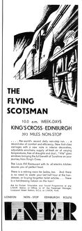 Flying Scotsman advertisment