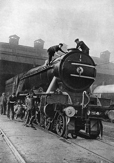 The 'Flying Scotsman' cleaned