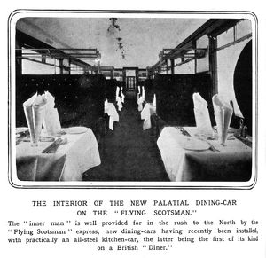 The Flying Scotsman dining car