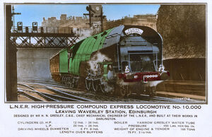 Flying Scotsman - LNER High-pressure Compound Express Loco