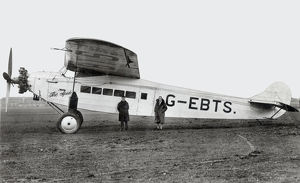 new images grenville collins collection/fokker f7a passenger aircraft