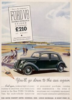 Ford V8 advertisement
