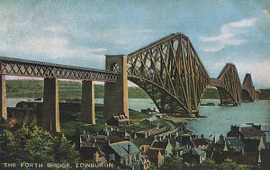 Forth Rail Bridge, Scotland