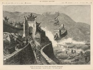 FRENCH TAKE GREAT WALL