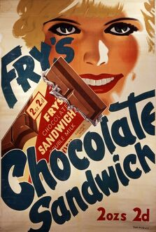 Fry's chocolate sandwich advert