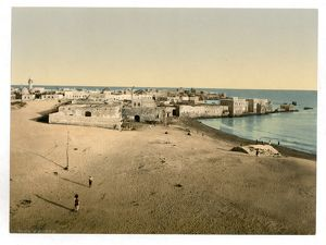 General view, Tyre, Holy Land, (i.e., Lebanon)