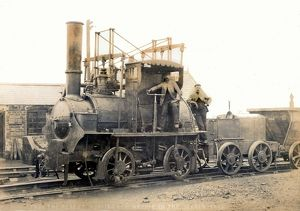 George Stephenson's Hetton colliery locomotive