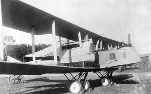 German Gotha G.V heavy bomber, WW1