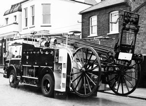 GLC-LFB ERF diesel pump-escape fire engine