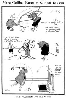 More Golfing Notes, by William Heath Robinson
