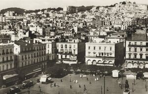 Government Square and the Casbah, Algiers, Algeria