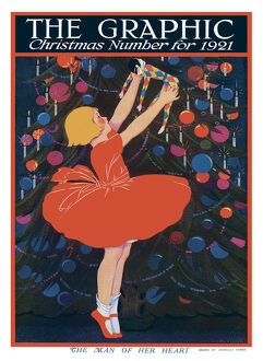 mary evans calendar 2020/graphic christmas number 1921 cover