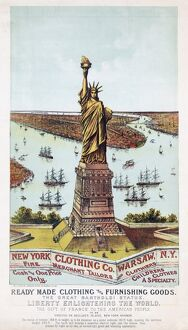 The Great Bartholdi Statue, Liberty Enlightening the World.