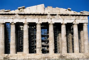 Greece. Athens. Acropolis. Parthenon