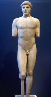 Greece. Kritios Boy. Early Clasical period. By Kritios. C. 4