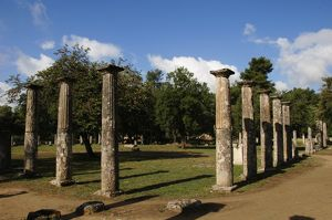 Greece. Peloponesse. Olympia. Santuary of ancient Greece in