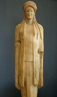 Greek Art. Kore. VI century B.C