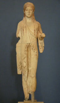 Greek Art. Kore. VI-V century B.C