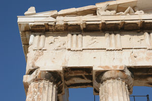 Greek Art. Parthenon (447-438 BC). Entablature. Acropolis. A