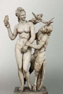 Group of Aphrodite and Pan