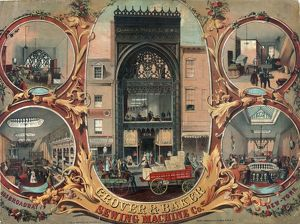 Grover & Banker Sewing Machine Co. 495 Broadway New York
