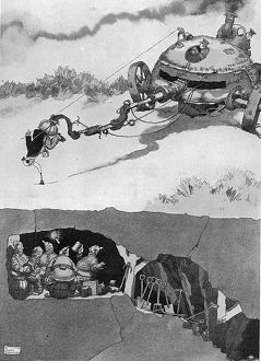 The Harley-Scope Mine-Detector by William Heath Robinson