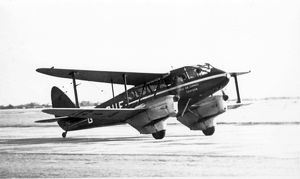 de Havilland DH89 Dragon Rapide G-AGUF