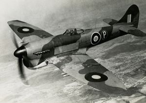 Hawker Tempest V powered by a Sabre IIB engine