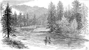 Henry's Fork, Snake River, Yellowstone, 1883.