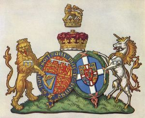 The Heraldry of the Duke and Duchess of Kent