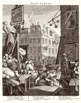 Hogarth, Beer Street