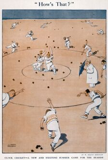 How's That? By William Heath Robinson