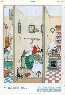 An Ideal Home No. I by William Heath Robinson