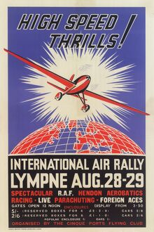 International Air Rally Poster 1937