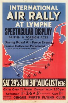 International Air Rally Poster