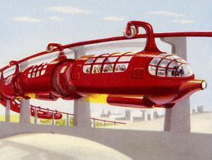 JET PROPELLED MONORAIL
