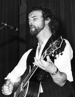 John Martyn in concert, St Ives, Cornwall