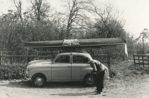 new images grenville collins collection/kayak roof small 1950s uk car