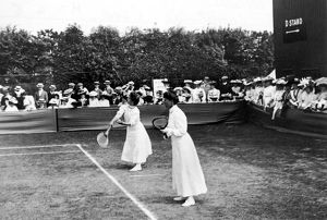 LADIES DOUBLES/WIMBLEDON