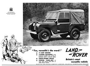 Land Rover advertisement, 1953