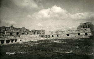 new images grenville collins collection/las monjas uxmal yucatan mexico