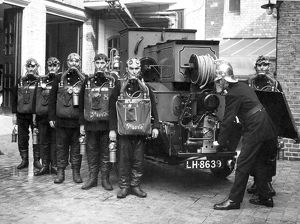 LCC-LFB first emergency tender crew, Clerkenwell