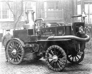 LCC-LFB Shand Mason motor steam fire engine